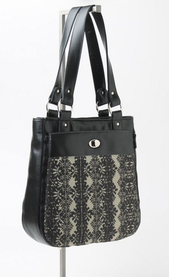 Tote with Rail Pocket