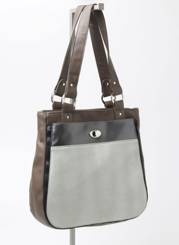 Tote with Seal Pocket