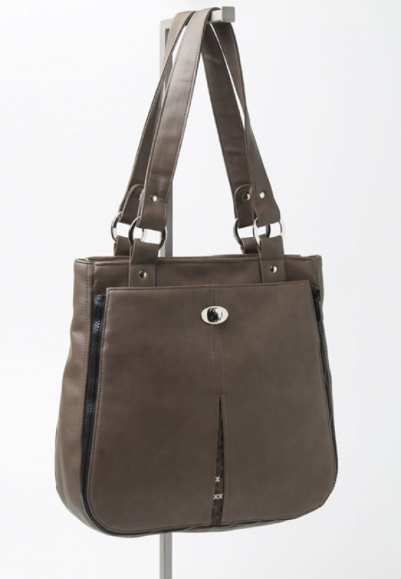 Tote with Crossbody attached