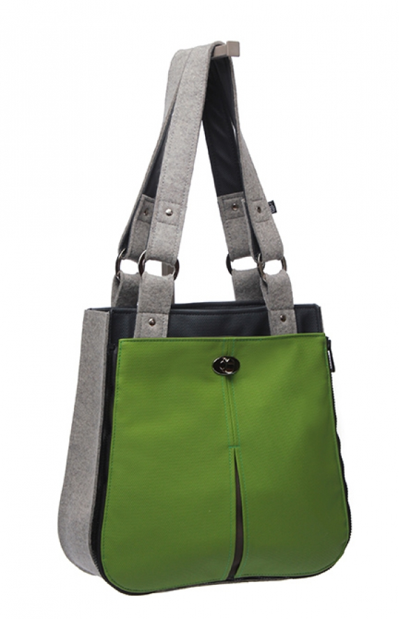 Mod Vert Cross-Body Shown on Tote