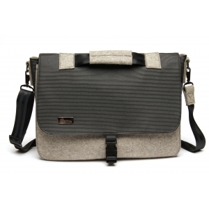 Laptop Bag - Black with Black hardware