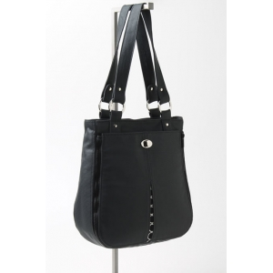 Tote with Mod Noir Pocket