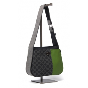 Handbag - Multi-Stripe in Peapod